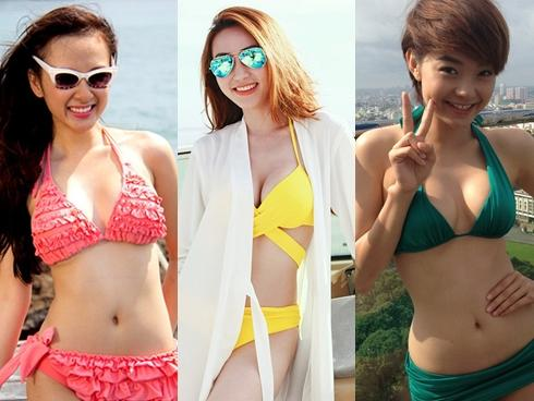 Mỹ Nhân Việt Mặc Bikini Nóng Bỏng Thiêu đốt Màn ảnh Việt