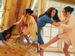 Hình ảnh gây sốc toàn tập: Công nương Meghan túm tóc, đánh nhau với chị dâu Kate ở ngay Cung điện
