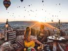 Tham quan 'thành phố dưới lòng đất', bay khinh khí cầu tại Thổ Nhĩ Kỳ