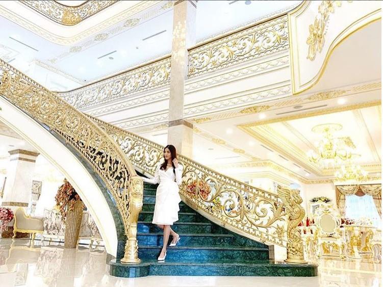 Nửa năm về làm dâu gia tộc giàu có, cuộc sống trong nhung lụa của Lan Khuê khiến bao người phải khát thèm-5
