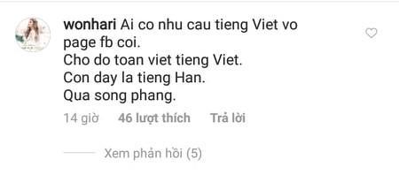 Chỉ vì một status vui, Hari Won bị chỉ trích dùng tiếng Hàn, khinh người Việt-4