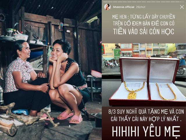 HHen Niê mua trang sức 80 triệu tặng mẹ, ai cũng cảm động khi biết câu chuyện đằng sau-2