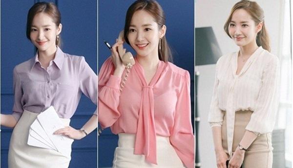 Cùng vào vai thư ký nhưng gu thời trang công sở của Park Min Young và Yoo In Na lại khác nhau một trời một vực-1