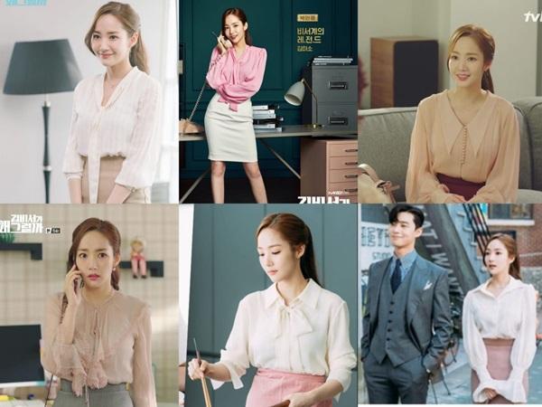 Cùng vào vai thư ký nhưng gu thời trang công sở của Park Min Young và Yoo In Na lại khác nhau một trời một vực-2