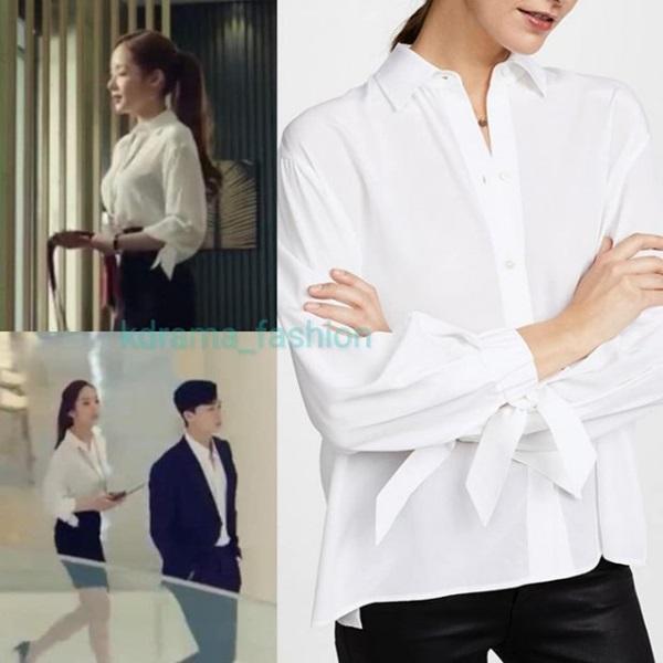 Cùng vào vai thư ký nhưng gu thời trang công sở của Park Min Young và Yoo In Na lại khác nhau một trời một vực-3