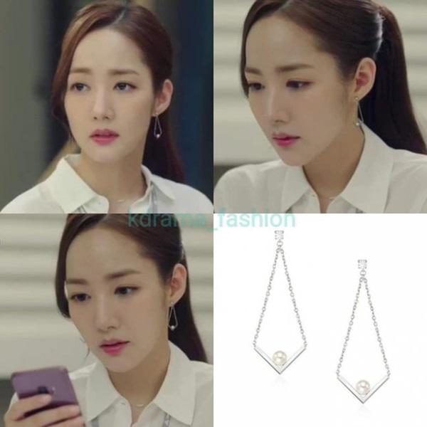 Cùng vào vai thư ký nhưng gu thời trang công sở của Park Min Young và Yoo In Na lại khác nhau một trời một vực-4