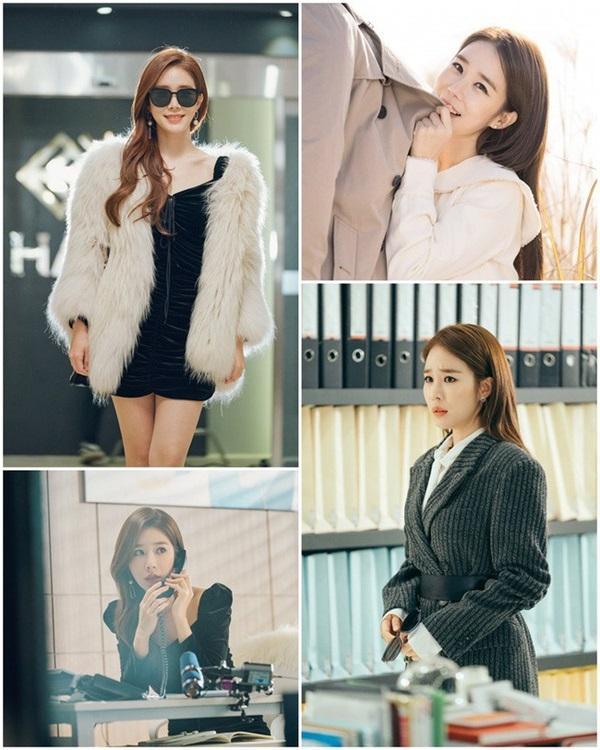 Cùng vào vai thư ký nhưng gu thời trang công sở của Park Min Young và Yoo In Na lại khác nhau một trời một vực-5