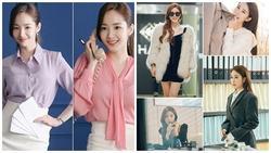 Cùng vào vai thư ký nhưng gu thời trang công sở của Park Min Young và Yoo In Na lại khác nhau một trời một vực