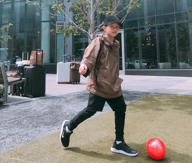 Con trai Cường Đô La - Hà Hồ lớn phổng phao, học giỏi, thích thể thao-5