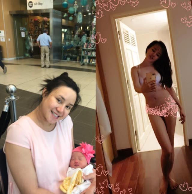 Vy Oanh tự gọi mình là heo nái xấu không còn chỗ để xấu với hình ảnh tăng đến 24 kg khi mang bầu-2