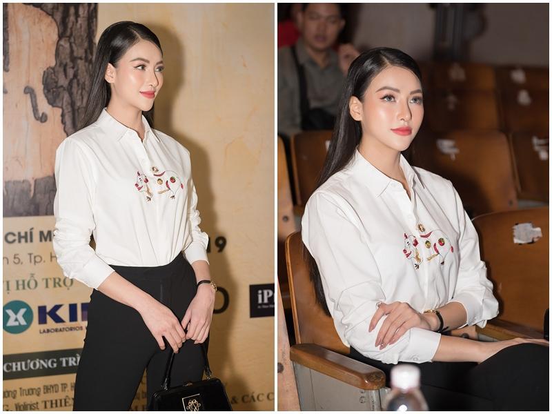 Hoa hậu Trái đất Phương Khánh bị nghi phẫu thuật thẩm mỹ vì phần mũi như kèn saxophone-2