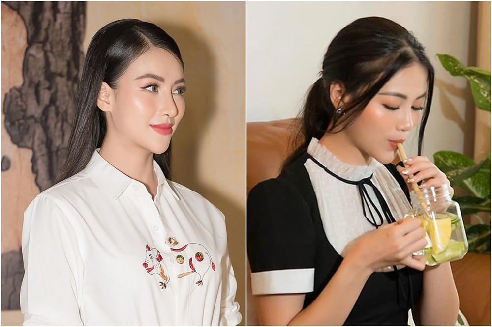 Hoa hậu Trái đất Phương Khánh bị nghi phẫu thuật thẩm mỹ vì phần mũi như kèn saxophone-5