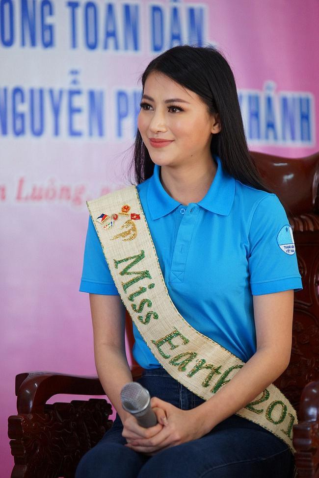 Hoa hậu Trái đất Phương Khánh bị nghi phẫu thuật thẩm mỹ vì phần mũi như kèn saxophone-8