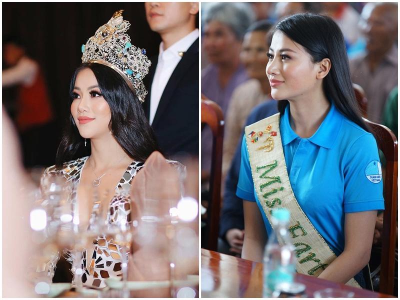 Hoa hậu Trái đất Phương Khánh bị nghi phẫu thuật thẩm mỹ vì phần mũi như kèn saxophone-9