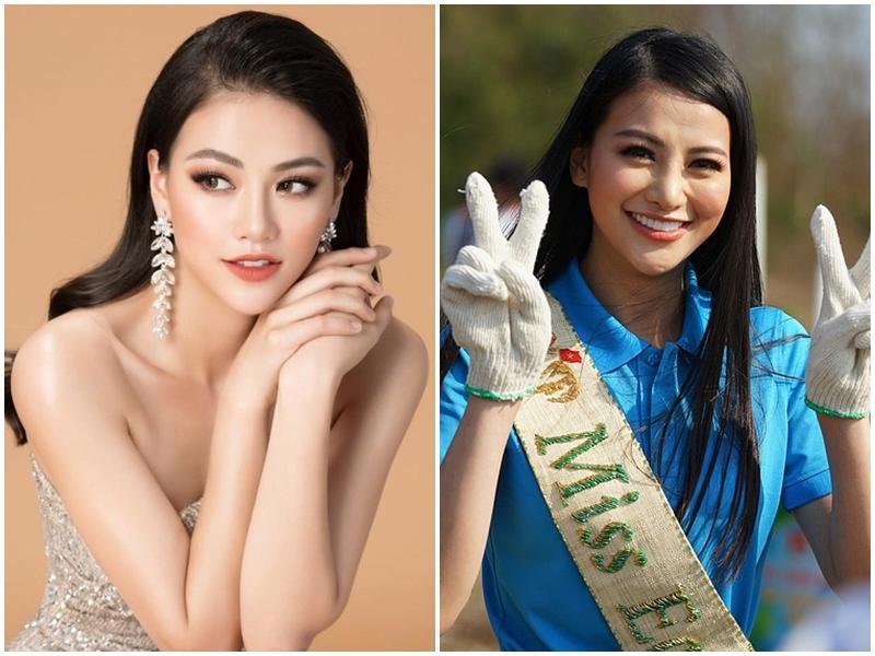 Hoa hậu Trái đất Phương Khánh bị nghi phẫu thuật thẩm mỹ sau vì phần mũi 'như kèn saxophone'