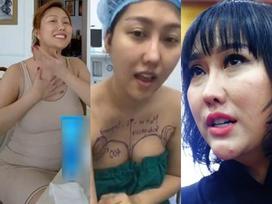 Tổng cộng 16 cuộc phẫu thuật với số tiền chi tới hơn 1 tỷ đồng, Phi Thanh Vân không ngờ bị 'dao kéo hại' với ngoại hình vừa đau vừa xấu