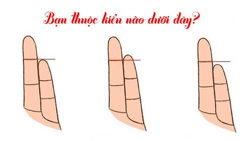 Chiều dài ngón tay út nói lên điều gì về tính cách và sở thích của bạn?-1