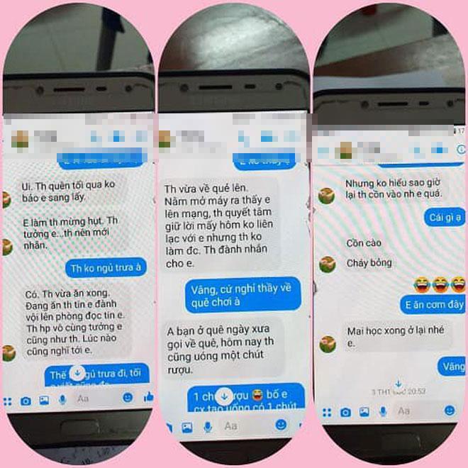 Loạt tin nhắn gạ tình nữ sinh lớp 10 của thầy giáo 40 tuổi trường chuyên Thái Bình khiến dân mạng rúng động-6