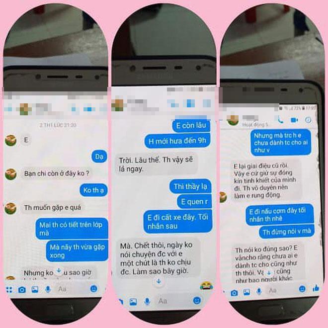 Loạt tin nhắn gạ tình nữ sinh lớp 10 của thầy giáo 40 tuổi trường chuyên Thái Bình khiến dân mạng rúng động-5