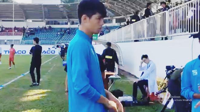 Thủ môn tân binh của CLB HAGL đẹp trai, 16 tuổi đã cao 1,88 m-1