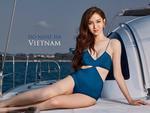 Nhật Hà khoe chân dài miên man nhưng để lộ 'eo bánh mì' khi show bikini tại Hoa hậu Chuyển giới Quốc tế 2019