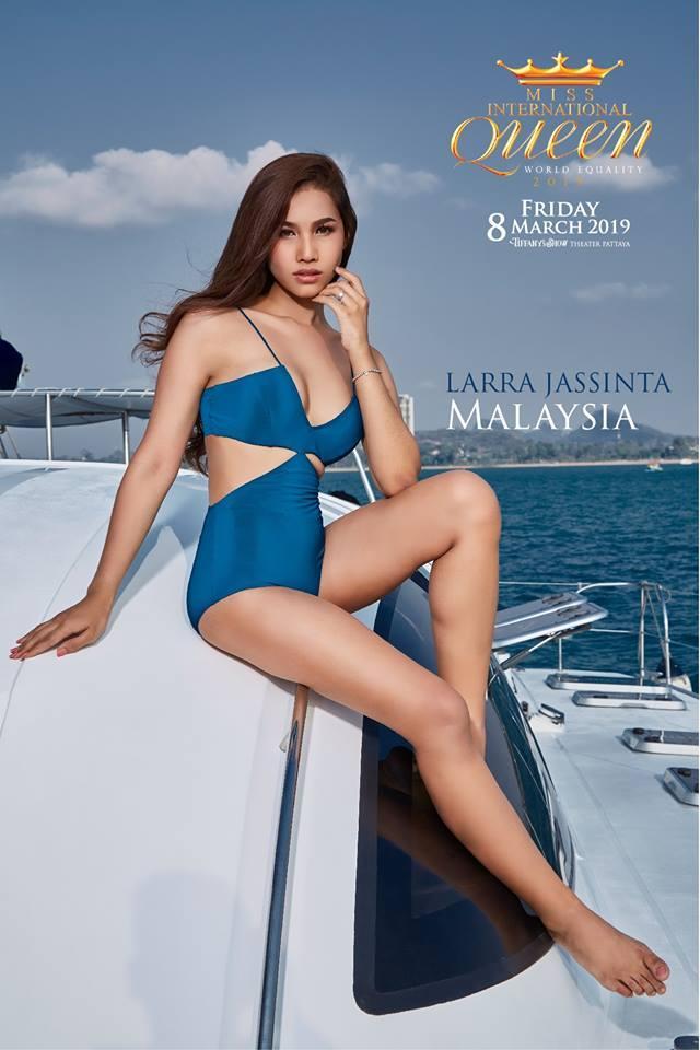 Nhật Hà khoe chân dài miên man nhưng để lộ eo bánh mì khi show bikini tại Hoa hậu Chuyển giới Quốc tế 2019-3
