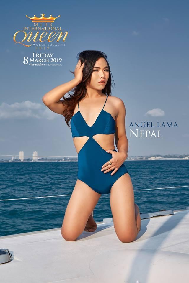 Nhật Hà khoe chân dài miên man nhưng để lộ eo bánh mì khi show bikini tại Hoa hậu Chuyển giới Quốc tế 2019-6