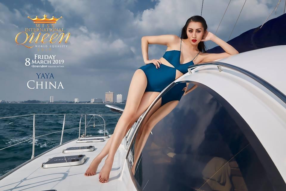 Nhật Hà khoe chân dài miên man nhưng để lộ eo bánh mì khi show bikini tại Hoa hậu Chuyển giới Quốc tế 2019-14