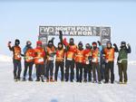 Nhiên 'Everest' chinh phục marathon Bắc Cực