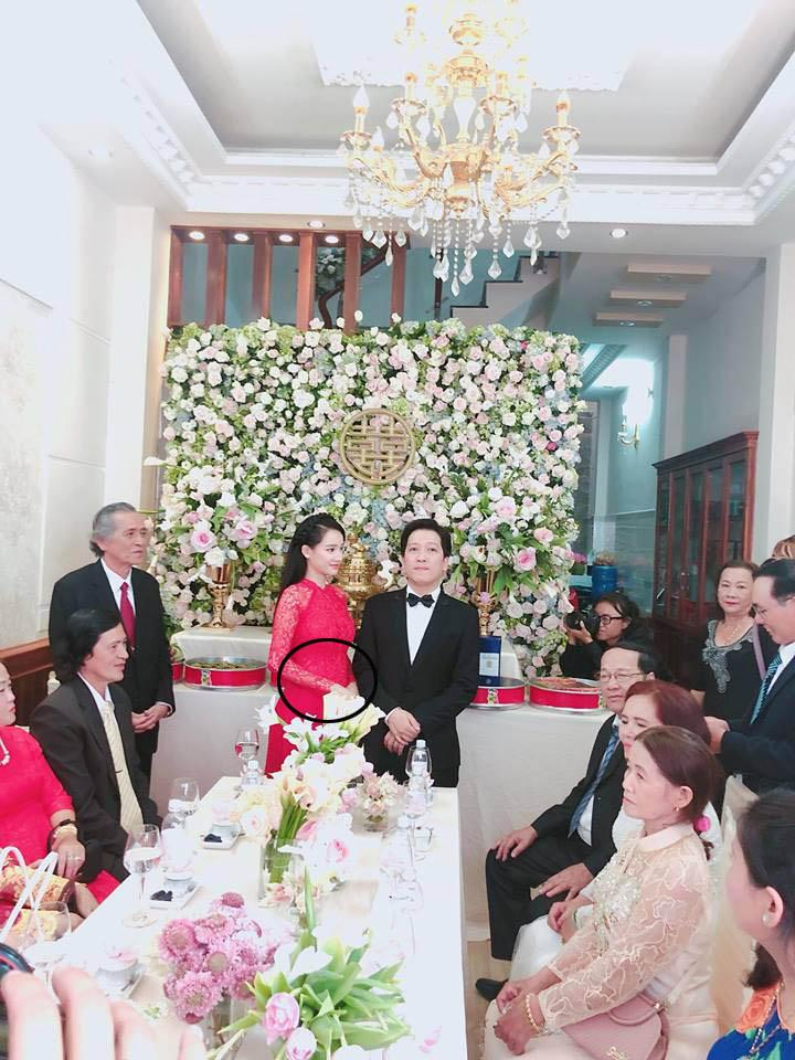 Đám cưới chưa rõ thật giả của Nam Em TÌNH CỜ có 3 chi tiết trùng hợp với đám cưới Trường Giang - Nhã Phương-5