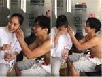 Chứng kiến Khánh Thi nước mắt lã chã vì được nhận quà sinh nhật, Phan Hiển rung đùi cười không thể đáng yêu hơn-4