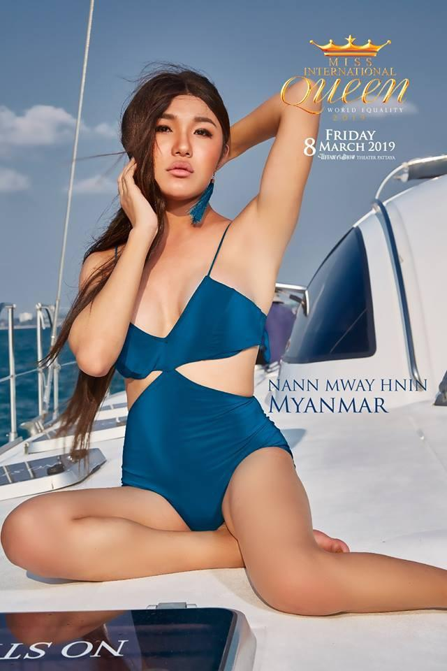 Chỉ 1 nụ cười và hất tóc trong vòng 10 giây, Hương Giang mặc bikini đẹp lấn át cả dàn thí sinh Miss International Queen 2019-8