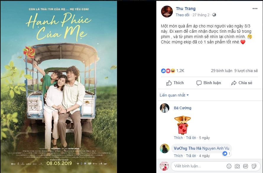 Trường Giang, Thu Trang và dàn sao Việt bật khóc sau khi xem phim của Cát Phượng - Kiều Minh Tuấn-1