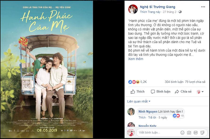 Trường Giang, Thu Trang và dàn sao Việt bật khóc sau khi xem phim của Cát Phượng - Kiều Minh Tuấn-2