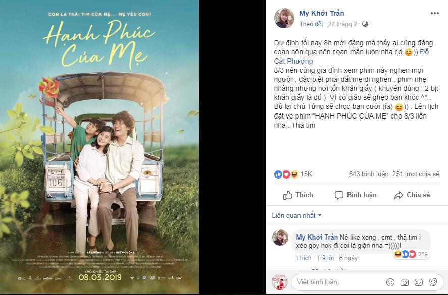 Trường Giang, Thu Trang và dàn sao Việt bật khóc sau khi xem phim của Cát Phượng - Kiều Minh Tuấn-7