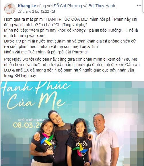 Trường Giang, Thu Trang và dàn sao Việt bật khóc sau khi xem phim của Cát Phượng - Kiều Minh Tuấn-5