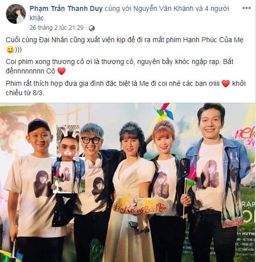Trường Giang, Thu Trang và dàn sao Việt bật khóc sau khi xem phim của Cát Phượng - Kiều Minh Tuấn-6