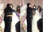 Đám cưới có 1 không 2: Cô dâu chú rể bước vào, cả hôn trường nức nở-5