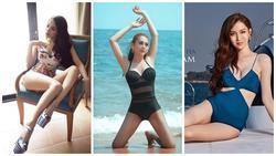 3 mỹ nhân chuyển giới Hương Giang - Nhật Hà - Lâm Khánh Chi đọ dáng bikini: Ai xuất sắc nhất?