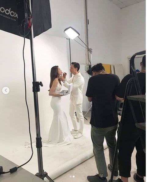 Rò rỉ hậu trường chụp ảnh cưới của Kim Lý - Hồ Ngọc Hà, ai nấy đều phải khen: Quá đẹp đôi-2