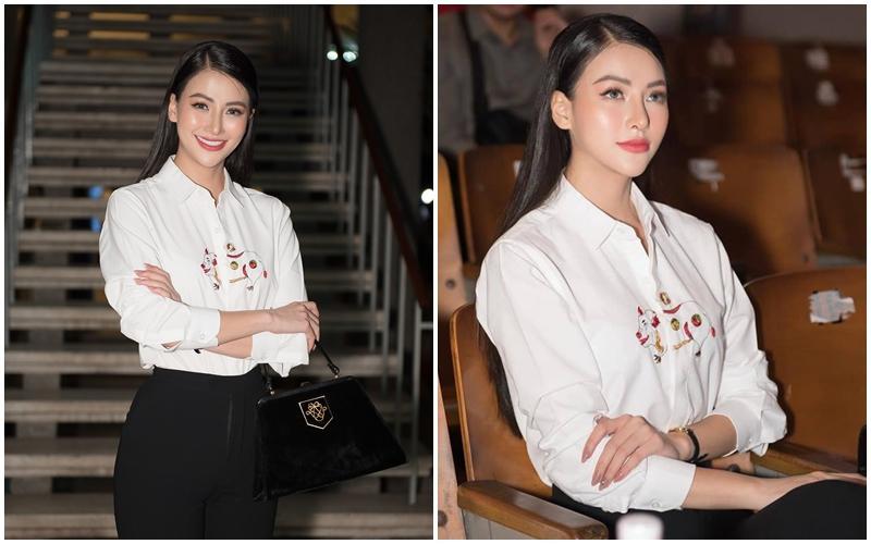 Thêm 1 mẫu áo sơ mi quốc dân lấy lòng từ hoa hậu Kỳ Duyên, Phương Khánh đến các cầu thủ như Văn Thanh, Bùi Tiến Dũng-2