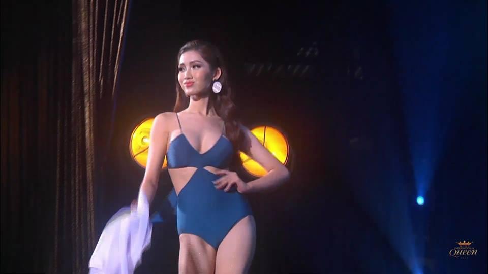 Chọn sai trang phục, may thay Nhật Hà gỡ gạc bằng pha xoay váy điệu nghệ tại bán kết Hoa hậu Chuyển giới 2019-2