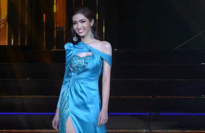 Chọn sai trang phục, may thay Nhật Hà gỡ gạc bằng pha xoay váy điệu nghệ tại bán kết Hoa hậu Chuyển giới 2019-3