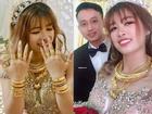 Cô dâu số hưởng nhất mạng xã hội hôm qua: Của hồi môn trĩu cổ toàn vàng, đã vậy còn lấy được chồng đẹp như soái ca