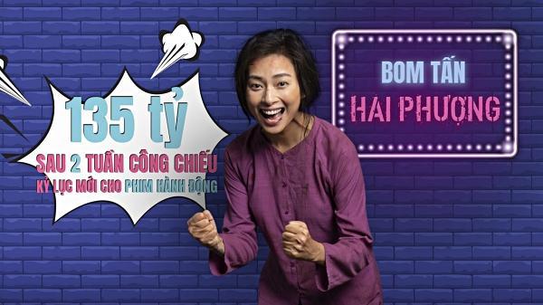 Doanh thu hơn 200 tỷ đồng, Hai Phượng vượt mặt Cua Lại Vợ Bầu trở thành phim Việt ăn khách nhất lịch sử-1