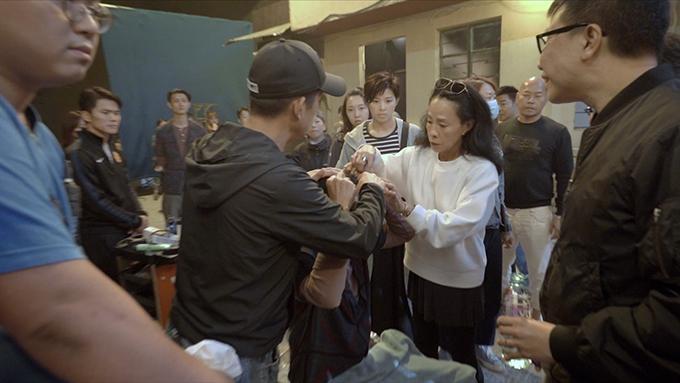 Châu Nhuận Phát bị đánh vỡ đầu trên trường quay-2