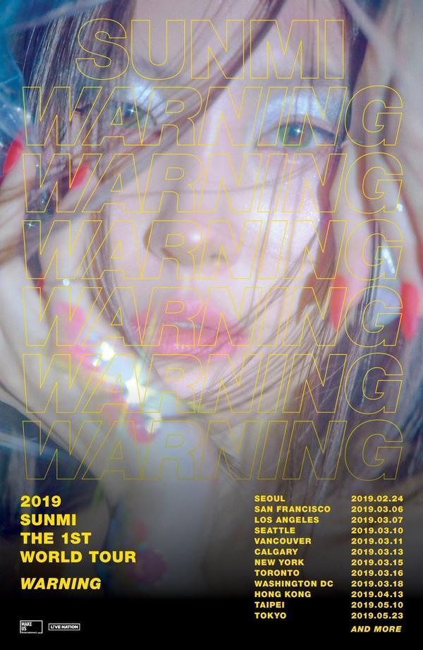 Quá phấn khích, Sunmi lỡ miệng để lộ luôn lịch comeback tiếp theo-1