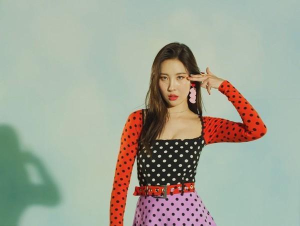 Quá phấn khích, Sunmi lỡ miệng để lộ luôn lịch comeback tiếp theo-2