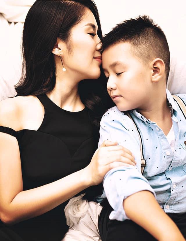 Lê Phương kể về những ngày lao vào kiếm tiền khi sinh con trai Cà Pháo-1