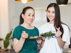 Hoa hậu Trần Tiểu Vy thừa hưởng gene đẹp xuất sắc từ ai?